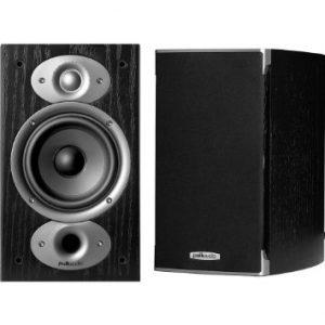 Polk Audio RTI A1 Bookshelf Speakers (Black)