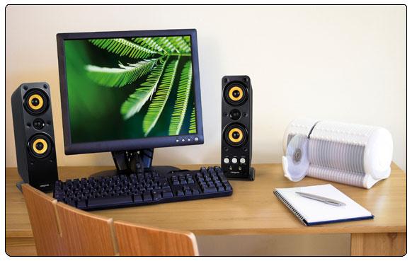 Gigaworks T40 Series II 2.0 High end Speakers