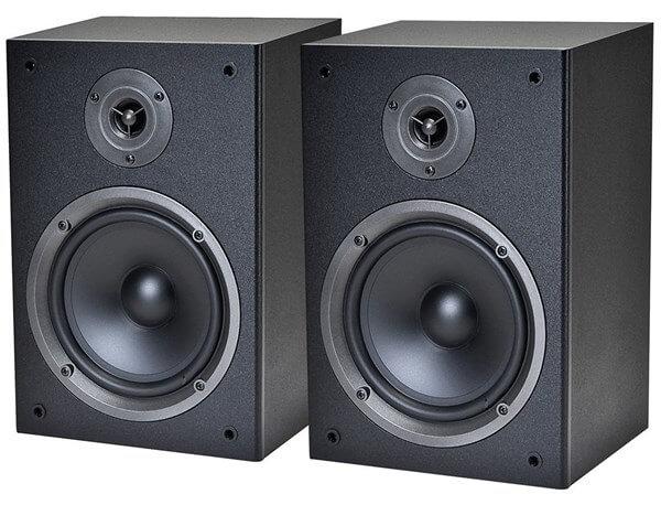 Best Audiophile speakers: Monoprice 8250 Bookshelf Speakers