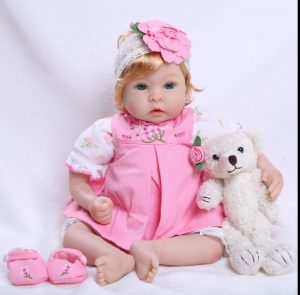 Otard gifts Reborn baby doll soft silicone girl full image