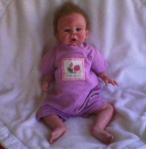 Reborn baby Dalia Dawn full image