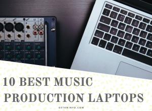 Best music production laptops under $1000