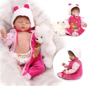 22 inch Silicone New Reborn Baby Dolls