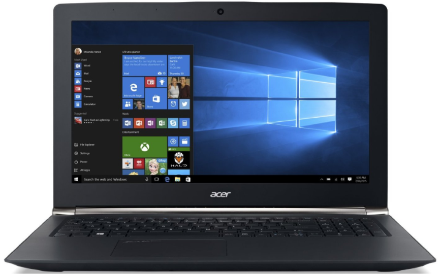 Acer Aspire V15 Nitro Black laptop for gaming