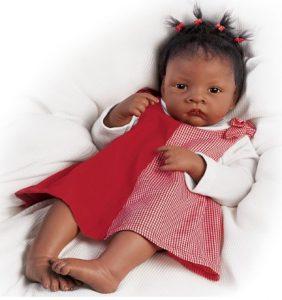 Waltraud Hanl Baby Jasmine Goes To Grandma's So Truly Real Baby Doll by Ashton Drake